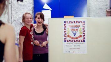 FOTO: Studentské prezidentské volby