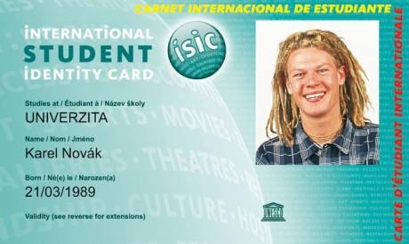 Na ISIC má nárok student střední i vysoké školy. Zdroj: GTS Alive