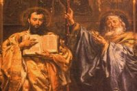 Sv. Cyril a Metoděj dorazili na Velkou Moravu roku 863. Co dalšího se hodí znát? Zdroj: wikipedia.cz