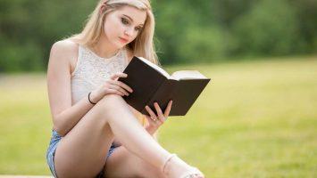 Čtení a knihy na prázdniny, na léto