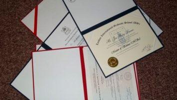 FOTO: Získané diplomy