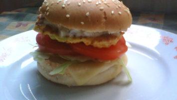 FOTO: Tofu burger