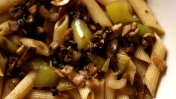 FOTO: Těstoviny se žampiony