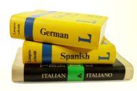 FOTO: Jazykové slovníky