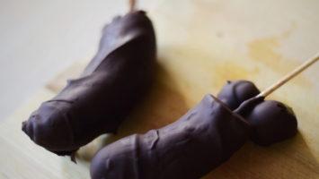 FOTO: Banány v čokoládě