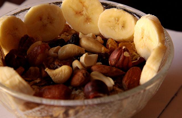 FOTO: Ovesné vločky s ovocem