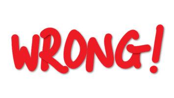 FOTO: wrong