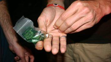 FOTO: Kouření marihuany