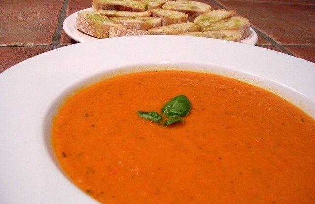 Španělská polévka recept