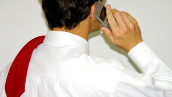 FOTO: Telefonování