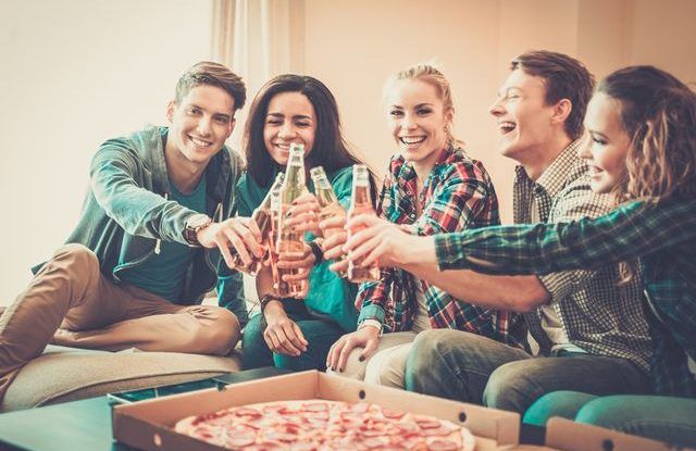 Párty doma, jak oslavit maturitu