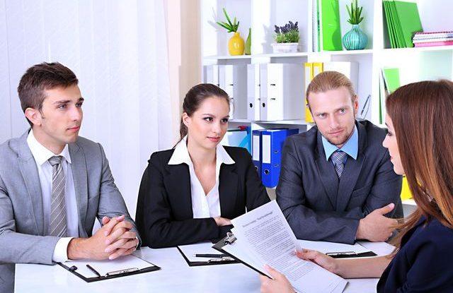 Neplacená praxe, Pracovní pohovor