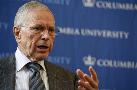 FOTO: Edmund S. Phelps na konferenci Columbia University