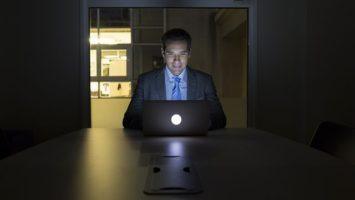FOTO: Práce v noci