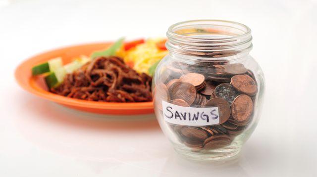 FOTO: Úspory za jídlo