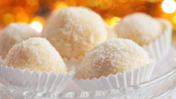 FOTO: Kokosové kuličky