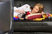 FOTO: Sledování televize