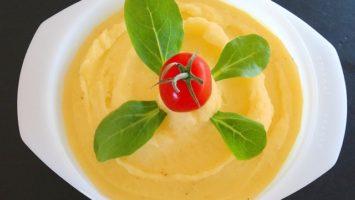 Recept na kaši z brambor a mrkve