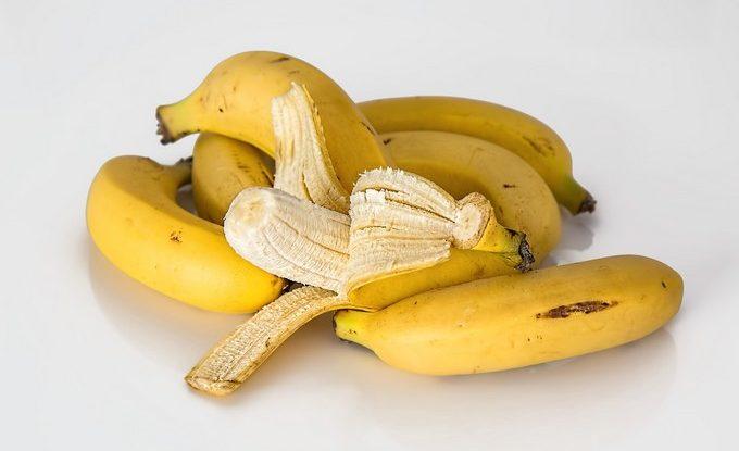 FOTO: Banány, jídlo na kocovinu