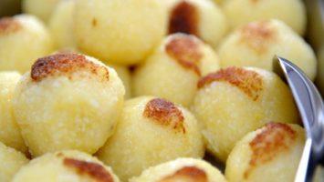 Zbytky bramborových knedlíků
