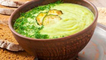 FOTO: Cuketová polévka
