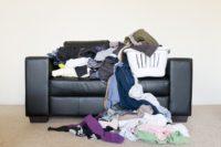 FOTO: Nepořádek v pokoji
