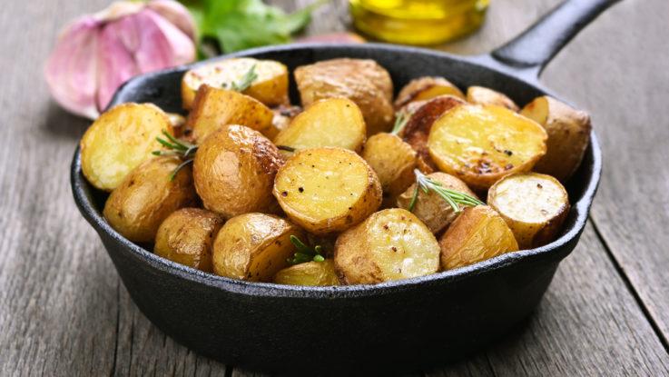 Jak ušetřit na jídle, recepty z brambor