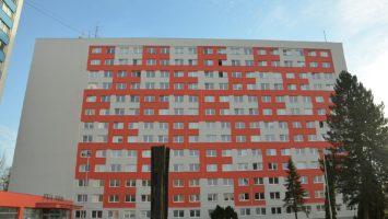 Vysokoškolské koleje v Ostravě Porubě