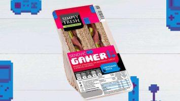 Gamer sendvič hamé