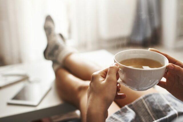 Pití kávy